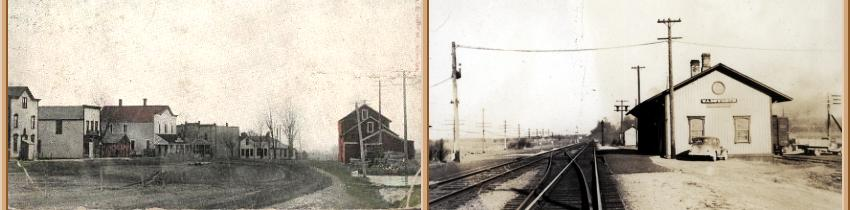Historical pictures of Franksville and Wadsworth