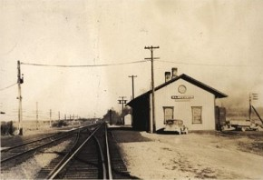 The Wadsworth Train Station 1939